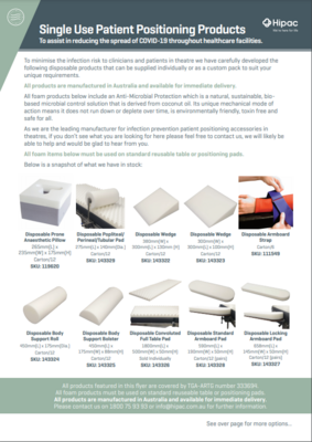 Clinical Consumables Flyer