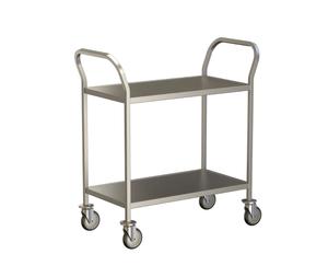 2 Shelf Clearing Trolley