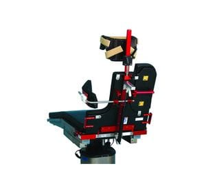 Adjustable, Over-Rail Type Lift Assisted Shoulder Chair