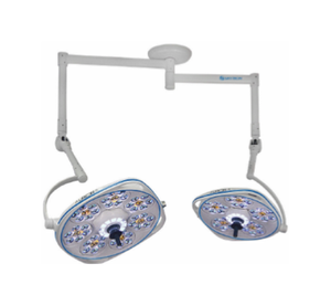Dual, Variable-Focus 30/24 Inch LED Surgical Lighting Fixture