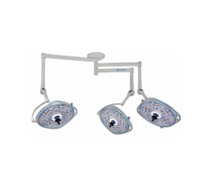 Triple, Variable-Focus 24 Inch LED Surgical Lighting Fixture
