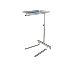 Mayo Table - Two Leg Flat Base