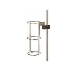 IV Pole Vertical Oxygen Bottle Holder and Clamp