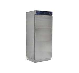 Warming Cabinet, 2 compartment, 3 adjustable shelves, stainless steel doors and audible alarm, overall size 762mm (W) x 1892mm (H) x 673mm (D)
