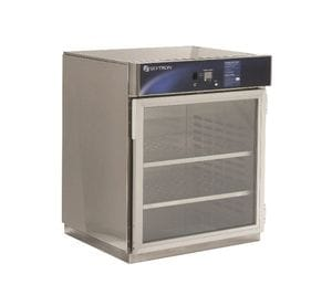 Warming Cabinet, 1 compartment, countertop or under-counter, glass door, size 762mm (W) x 914mm (H) x 673mm (D)