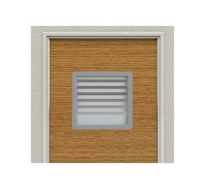 Stainless Steel Surround for Vision Panels