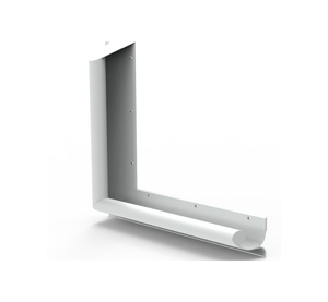 Contour Anti-Ligature 90 Degree Grab Rail, 700mm x 900mmm