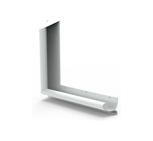 Contour Anti-Ligature 90 Degree Grab Rail, 450mm x 450mm