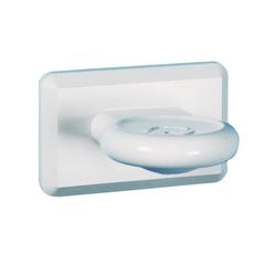 Kestrel Soap Dish - White Plastic