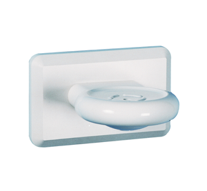Kestrel Soap Dish - White Plastic