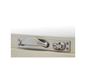 Anti-Ligature Window Push/Pull Handle with Roller Latching Deadlock