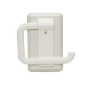Kestrel Toilet Roll Holder, White Plastic