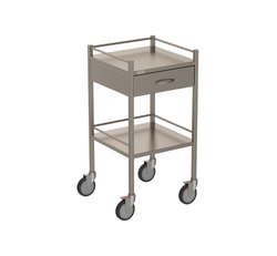 One Drawer Instrument Trolley