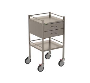 Two Drawer Instrument Trolley