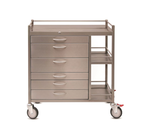 Anaesthetic Trolley - Deluxe