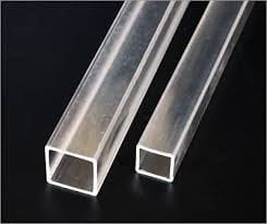 Clear Acrylic Square Tube