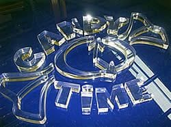 Laser Cutting Acrylic Letters