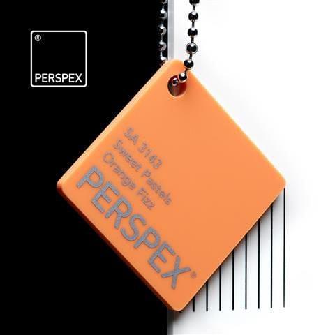 Holland Plastics Holland PLastics Perspex® Sweet Pastels - Orange Fizz - SA 3143