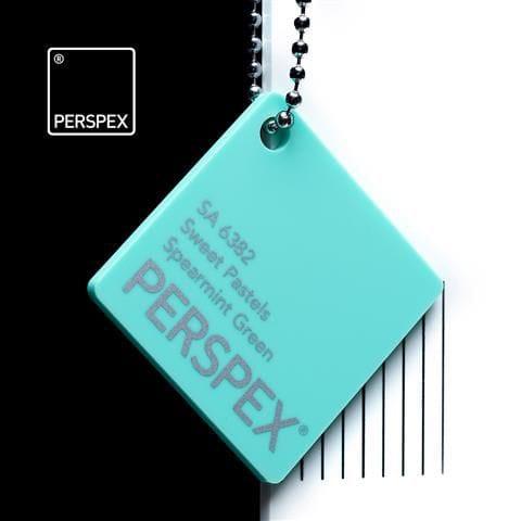 Holland PLastics Perspex® Sweet Pastels - Spearmint Green - SA 6382