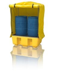 Frame & Cover Weatherproof Drum Bund Covers