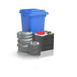 120 ltr Low Dust Wheelie Bin Spill Kits