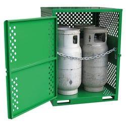 Flamstores Forklift LPG Store - 2 Cylinder