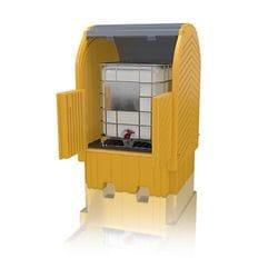 Polyethylene Modular Hardtop Single IBC Bund