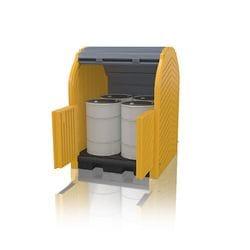 Polyethylene Modular Hardtop 4 Drum Bund