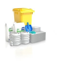 240 ltr Oil & Fuel Standard Wheelie Bin Spill Kits