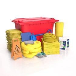 660 ltr Hi-Vis (Chemcial) Wheelie Bin Spill Kit