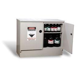 160 ltr Polyethylene Corrosives Storage Cabinet