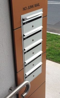 Letterboxes mailboxes Melbourne Adelaide Mailsafe