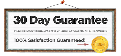 30 Day Happiness Guarantee