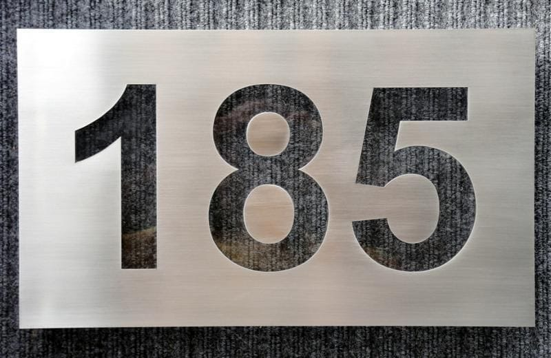 House numbers signs for House number designs