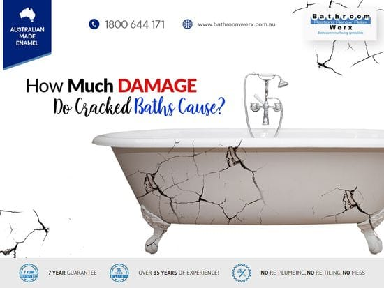 How Much Damage Do Cracked Baths Cause?