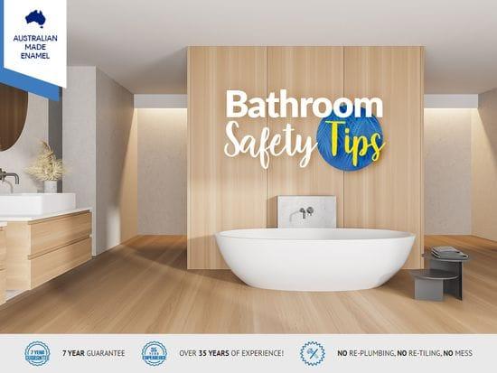每个澳大利亚人都应该做三件事来确保他们的浴室安全