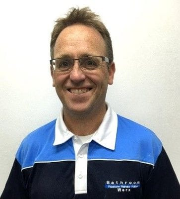 Andrew Joynt, bathroom renovation technician in Melbourne