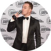 Grant wins an ACRA radio award for Best Newcomer