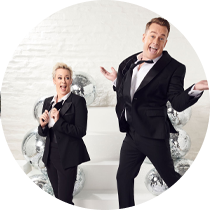 Grant hosts 'Dancing with the Stars' Series 1 and the game show 'Celebrity Name Game' 5 nights per week