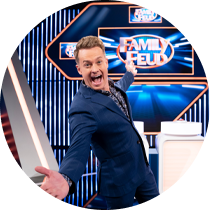 In 2020, Grant Denyer hosted the Family Feud reboot