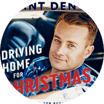 Grant releases Single 'Driving home for Christmas' reaching number 5 on the charts