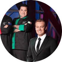 Grant hosted Iron Chef