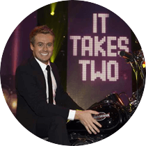 Host of 'It Takes Two' series 3