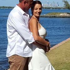 Jeanette + Troy Shearwater Park, Runaway Bay