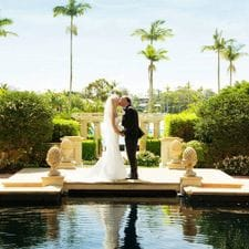 Anne + John InterContinental Sanctuary Cove Resort elopement