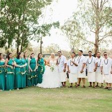 Erin + Lepale Parkwood Village Weddings