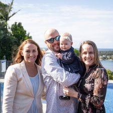 Katie, Andrew & baby Joey's babynaming