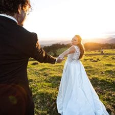 Tamara + Justin Moonlight Crag, Lamington National Park Fotoco Australia