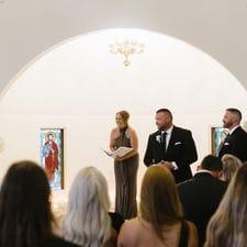Liz Pforr Wedding Celebrant Visions Estate, Mt Tamborine photo Wild Romantic Photography