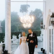 Sami + Jai Visions Estate wedding photo Wild Romantic Photography